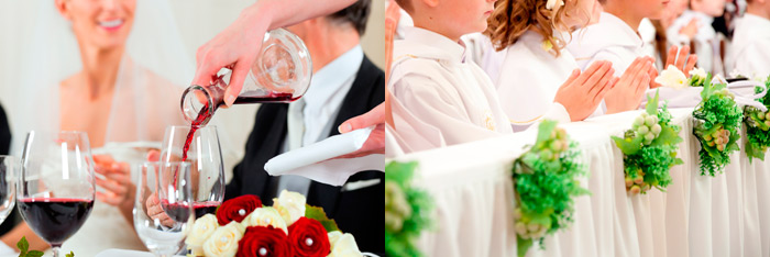 Benidorm restaurant also organize weddings, baptisms and communions