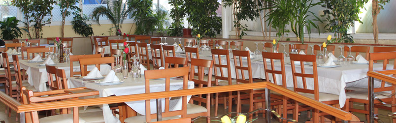 Large dining room in Benidorm perfect for meals, lunches and dinners.